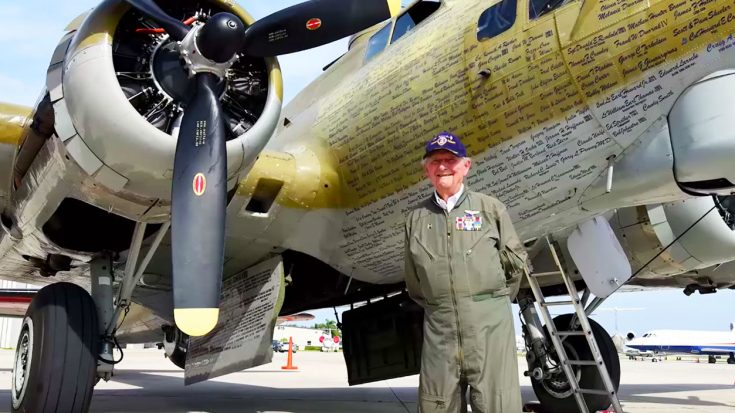 93-Year-Old Veteran Can't Stop Flying In This B-17 | World War Wings Videos