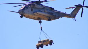 Military's Biggest Heli Invades Desert Combat Zone