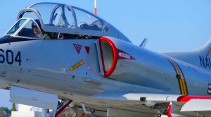 Gorgeous A-4 Skyhawk Restored To Perfection Soaring Through The Skies