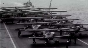 Historic Film Reel Of Obsolete Biplanes Crippling The Italian Fleet
