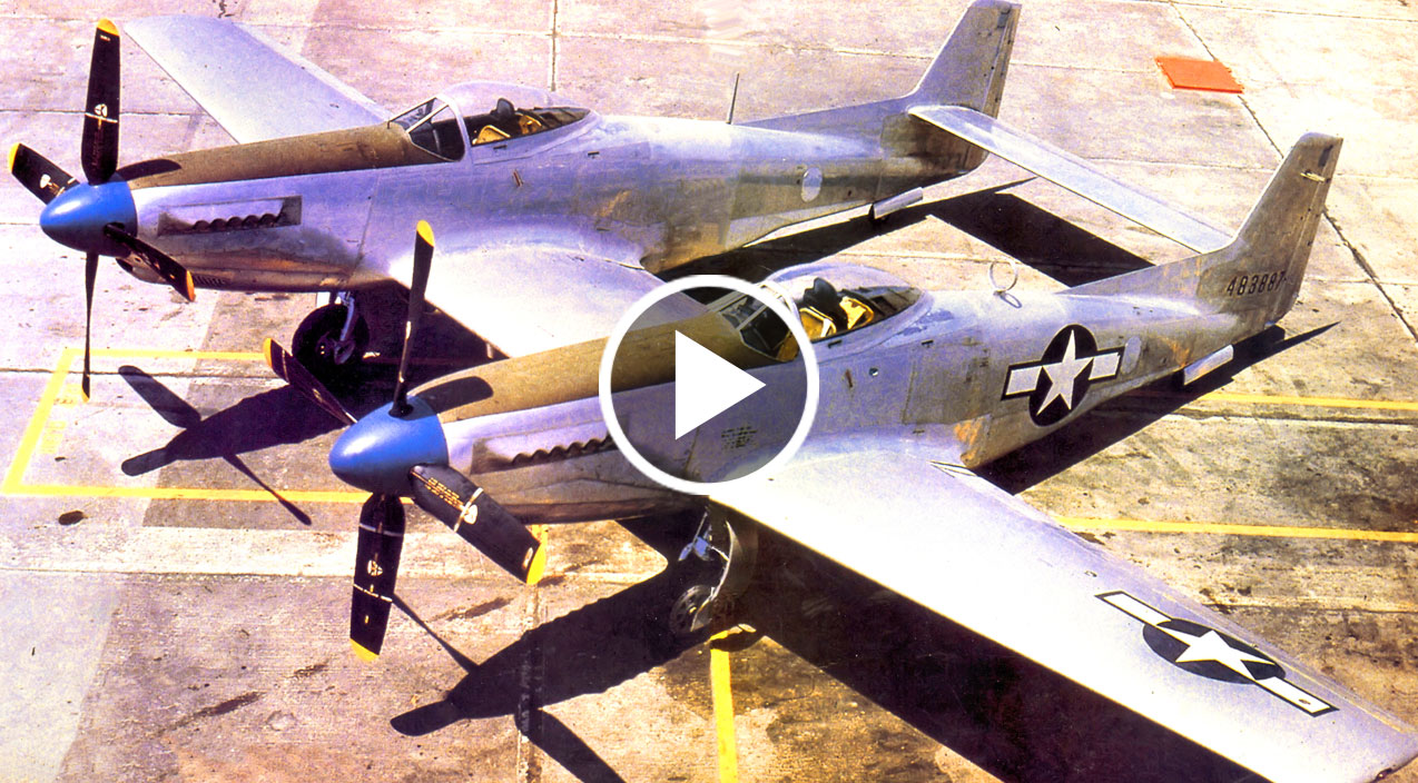 The F 82 Twin Mustang America S Final Piston Fighter