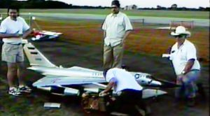 This Award Winning RC B-58 Hustler Had An Untimely Demise