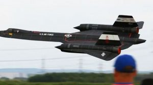 Watch This Massive RC SR-71's Flight In Clean And Crisp 1080 Resolution