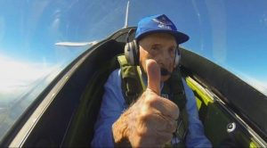 96-Year-Old WWII Vet's Triumphant Return To His P-51 Mustang Proves He's Still A Natural