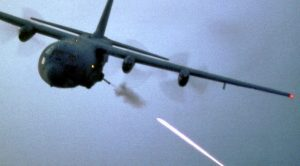 Troops Win Fierce Battle By Calling In Lethal AC-130 Airstrike From A Payphone?