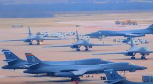 Massive B-1B Lancer Group Deployed To Asia As Menacing War Threat Develops