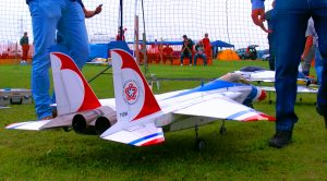 Tremendous Turbine-Powered RC F-15 Soaring In The Red, White And Blue