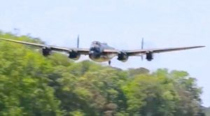 Vintage Bombers Coming In For Extremely Low Flybys – You'll Be On The Edge Of Your Seat