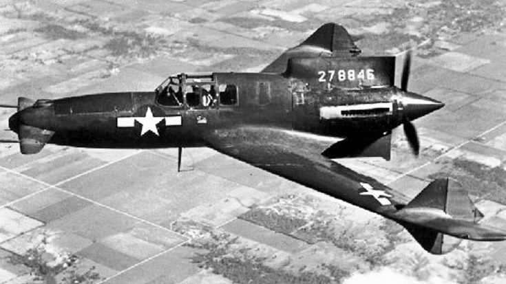 Somehow The XP-55 Ascender's Freakish Design Actually Worked | World War Wings Videos