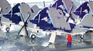 Artist Builds USS Intrepid Out Of Legos-You Won't Believe Its Size