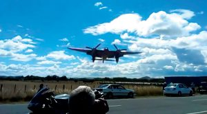 These Guys Capture A Mossie Coming In Almost Too Close For Comfort