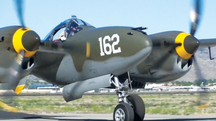 Steve Hinton Takes A P-38 Lightning To The Skies   World War Wings Videos