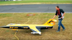 This Rare And Massive In Size Rc F-104 Starfighter Sounds Fantastic & Pops Smoke