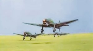 Incredible Footage Of The Luftwaffe During The War-In Color & HD