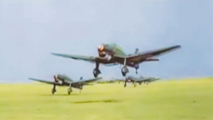 Incredible Footage Of The Luftwaffe During The War-In Color & HD | World War Wings Videos