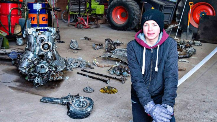 14-Year-Old Boy Discovers WWII Fighter And Remains Of Pilot | World War Wings Videos
