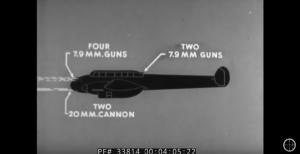 WW2 Film: How To Identify The Messerschmitt Bf 110