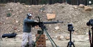 Shooting A DShK Heavy Machine Gun – Man, That's Loud!