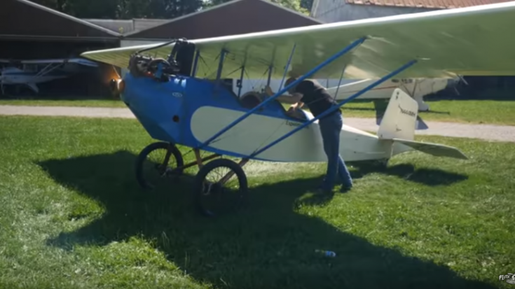 Home Built Biplane - This Little Toot Will Be My Third