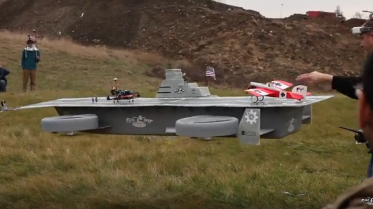 Avengers Helicarrier Flight Test – It's A Riot! | World War Wings Videos