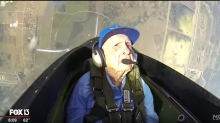 96-Year Old WW2 Pilot Flies Again And Feels Nostalgic | World War Wings Videos