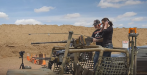 How Will The Humvee Door Stack Up Against A Mounted M2 .50 cal Machine Gun?