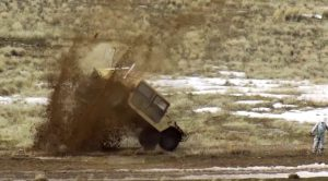 Brutal A-10 Warthog Rounds Tearing Through An Armored Humvee