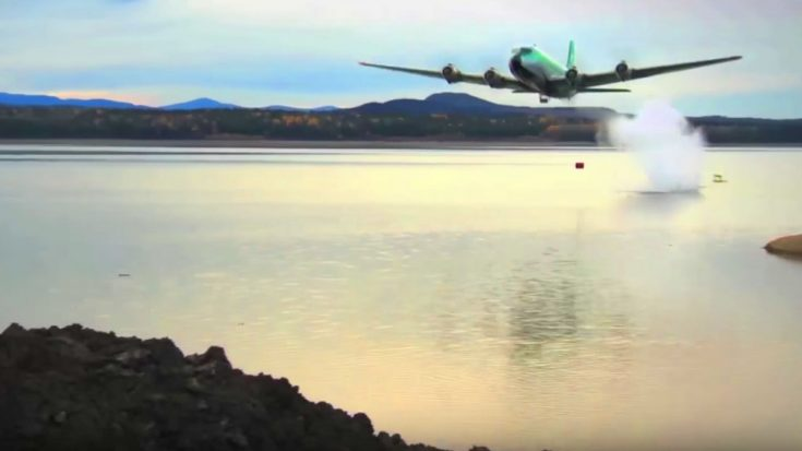 WWII-Era Bouncing Bomb Brought Back To Blast A Huge Dam | World War Wings Videos