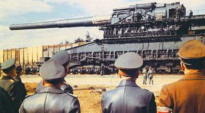 Rare Film Of The World's Biggest Artillery Launching An Onslaught Of Destruction