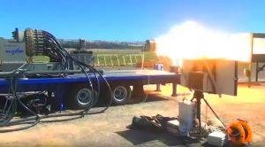 Devastating Firepower Of The Enormous Electromagnetic Railgun