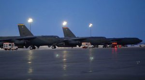 Colossal B-52 Bombers Deploy From Minot Air Force Base To Combat ISIS