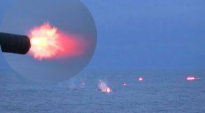 High-Powered Gatling Gun Shreds Through Invading Boats