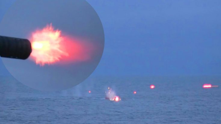 High-Powered Gatling Gun Shreds Through Invading Boats | World War Wings Videos