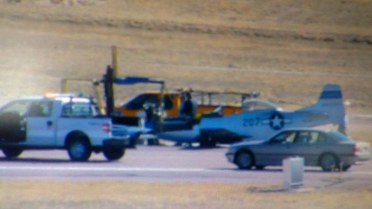 News| P-51 Mustang Malfunctions Crash Landing In Colorado | World War Wings Videos
