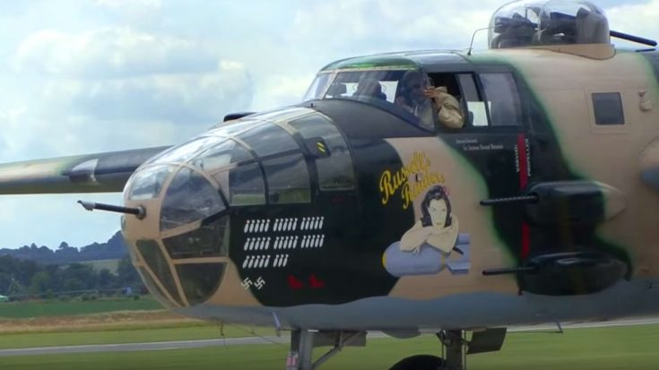 Legendary B-25 Roars Its Smokey Engine And Rockets Into The Sky | World War Wings Videos