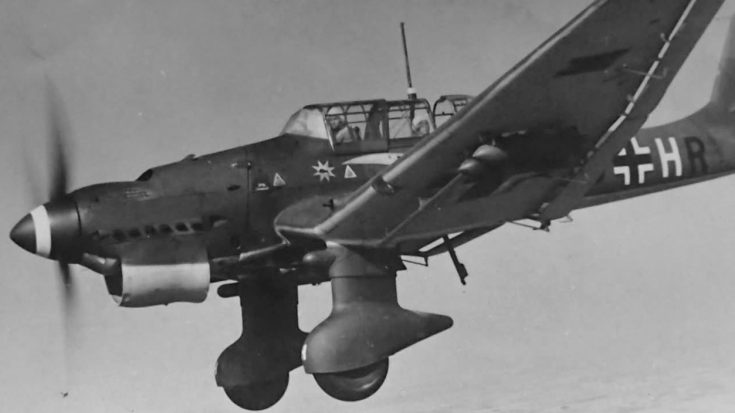 Loud Traumatic Howl Of The Ju-87 Stuka Siren | World War Wings Videos