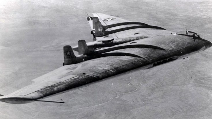 The Legendary YB-49 America's Extreme Wing Bomber