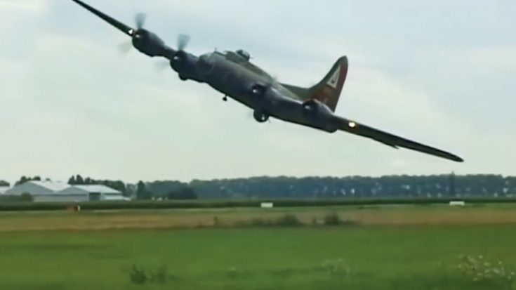 Here's A B-17 Flyby You've Never Seen-And Will Probably Never Forget | World War Wings Videos
