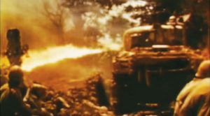 This WWII Footage Of A Flame Tank In Action Is Absolutely Brutal