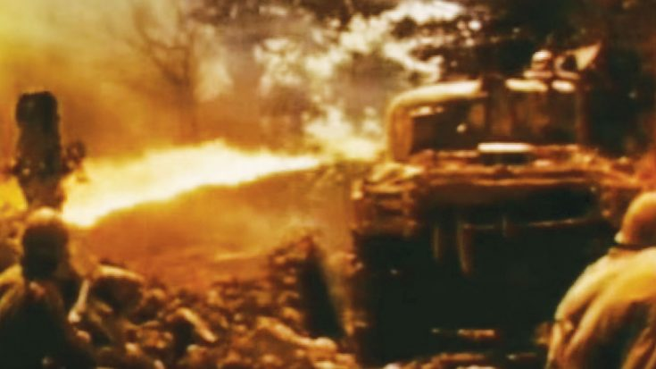 This WWII Footage Of A Flame Tank In Action Is Absolutely Brutal | World War Wings Videos