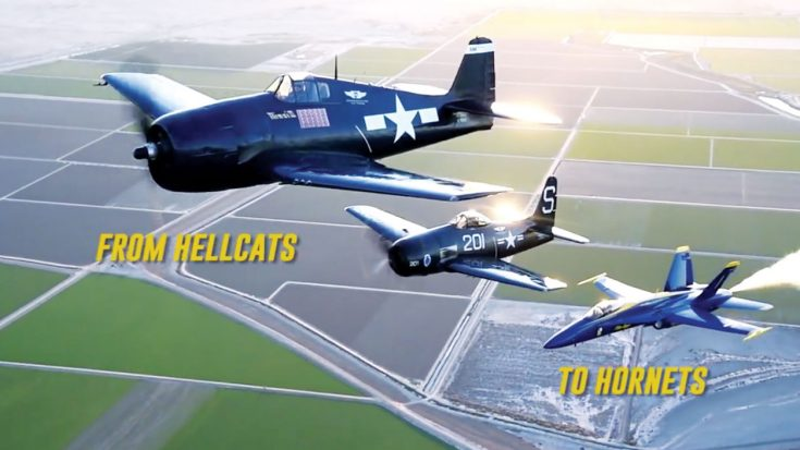 Complete List Of Planes Used By The Blue Angels Since 1946-With Beautiful Historical Pictures | World War Wings Videos