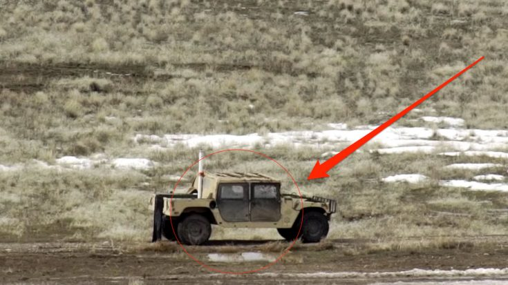 This Humvee Gets Wrecked By an A-10 Warthog: Finally We Get To See It | World War Wings Videos