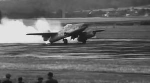 Rare Video Of Me-262's First Flight-It Didn't Go Very Well