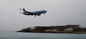WestJet Boeing 737 Almost Crashed Into The Water At St. Maarten