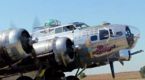 Powerful B-17 Engine Blasts To Life With A Mighty Cloud Of Smoke