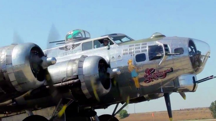 Powerful B-17 Engine Blasts To Life With A Mighty Cloud Of Smoke | World War Wings Videos