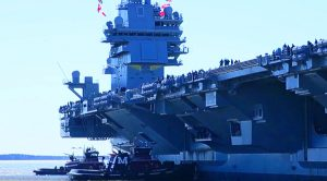 After Years Of Construction The US Navy Unleashes Their First Colossal Supercarrier