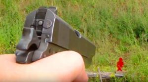 WWII M1911 Pistol Shots Vs Targets – Watch How It Holds Up 70 Years Later