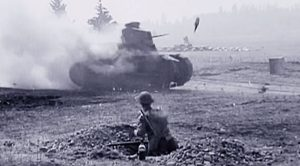 Tiny Little Bottle Blasts A Huge Tank To Hell – Deadly Molotov Cocktail