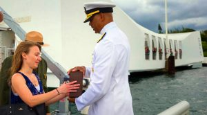 Pearl Survivor's Remains Laid To Rest Inside The Hull Of The USS Arizona – Farewell To A Hero